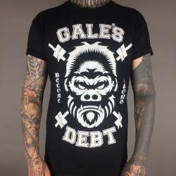 Gale´s Debt T-Shirt Gorilla