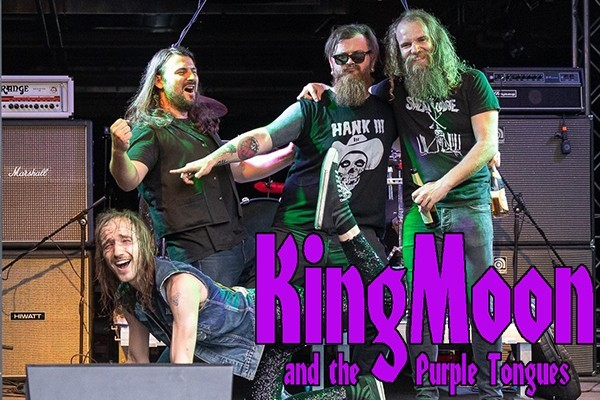 King Moon And The Purple Tongues